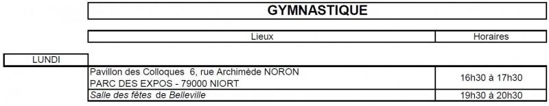 Planning Gym 19 20.4