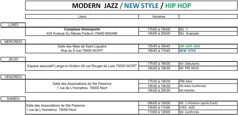 Planning Modern Jazz 18 19