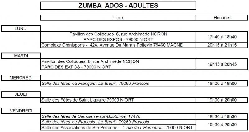Planning Zumba Fitness 19 20.2
