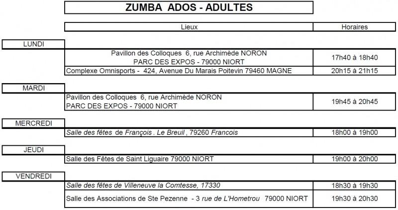 Planning Zumba Fitness 19 20.3